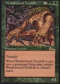 Weatherseed Treefolk - Foil