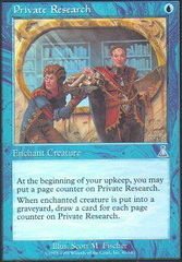 Private Research - Foil