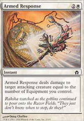 Armed Response - Foil on Channel Fireball