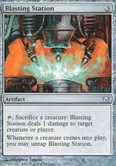 Blasting Station - Foil on Channel Fireball