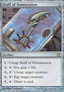 Staff of Domination - Foil