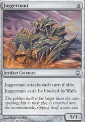Juggernaut - Foil on Channel Fireball