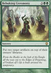 Rebuking Ceremony - Foil