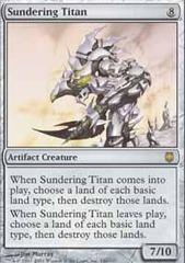Sundering Titan - Foil
