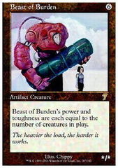 Beast of Burden - Foil on Channel Fireball