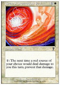 Circle of Protection Red - Foil