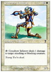 Crossbow Infantry - Foil