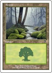 Forest (328) - Foil on Channel Fireball