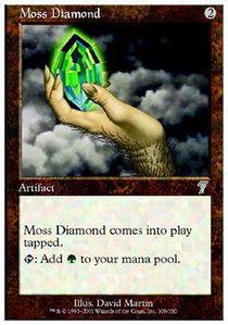 Moss Diamond - Foil