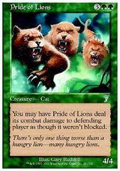 Pride of Lions - Foil