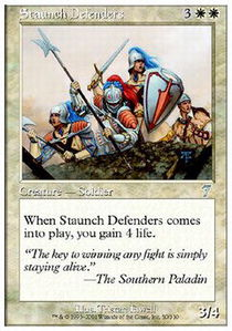 Staunch Defenders - Foil