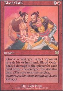 Blood Oath - Foil
