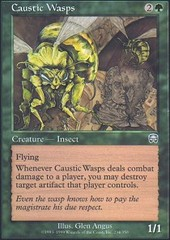 Caustic Wasps - Foil