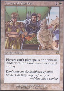 Cornered Market - Foil