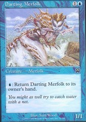 Darting Merfolk - Foil