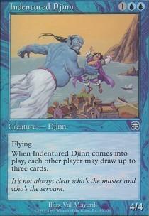 Indentured Djinn - Foil