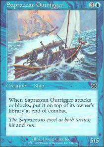 Saprazzan Outrigger - Foil