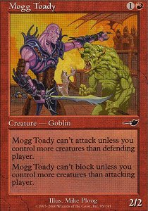 Mogg Toady - Foil