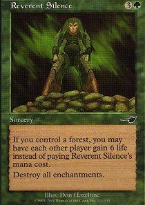 Reverent Silence - Foil