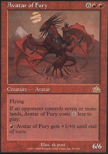 Avatar of Fury - Foil