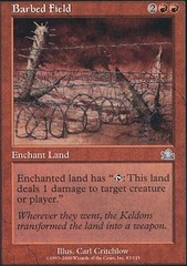 Barbed Field - Foil on Channel Fireball