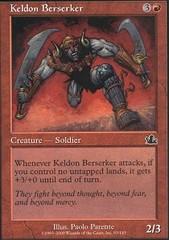 Keldon Berserker - Foil