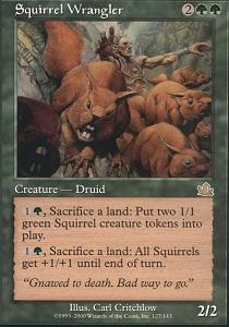 Squirrel Wrangler - Foil