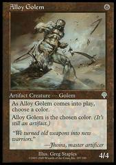 Alloy Golem - Foil on Channel Fireball