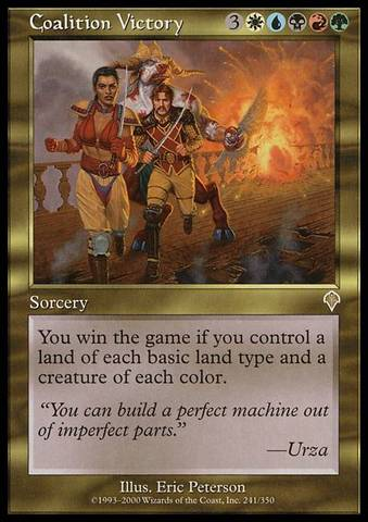 Coalition Victory - Foil