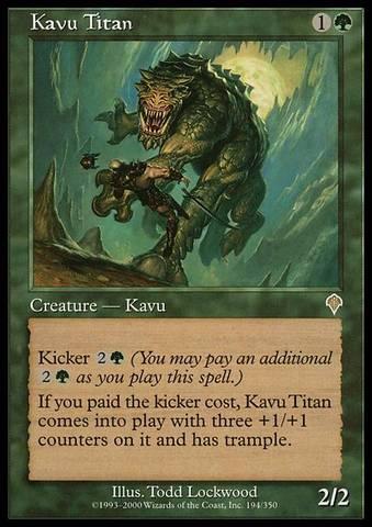 Kavu Titan - Foil