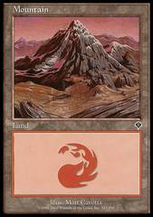 Mountain (343) - Foil on Channel Fireball