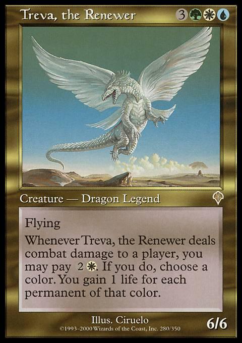 Treva, the Renewer - Foil