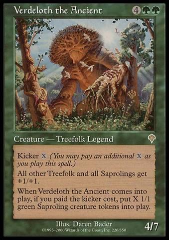Verdeloth the Ancient - Foil