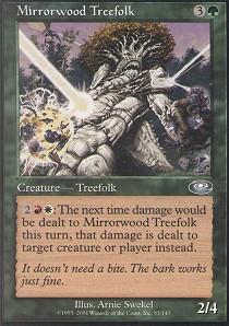 Mirrorwood Treefolk - Foil