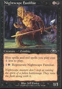 Nightscape Familiar - Foil