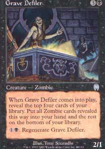 Grave Defiler - Foil