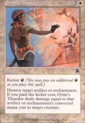 Orim's Thunder - Foil