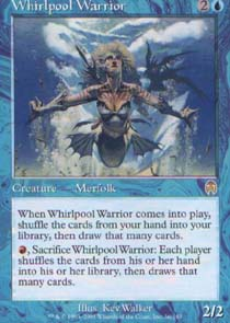 Whirlpool Warrior - Foil
