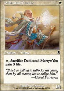 Dedicated Martyr - Foil