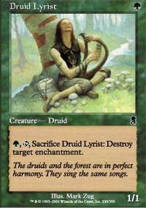 Druid Lyrist - Foil