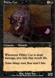 Filthy Cur - Foil