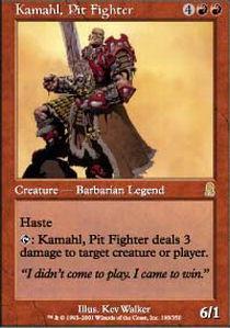 Kamahl, Pit Fighter - Foil