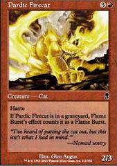 Pardic Firecat - Foil