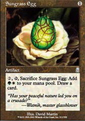 Sungrass Egg - Foil