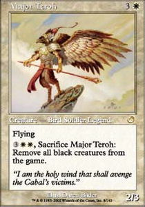 Major Teroh - Foil