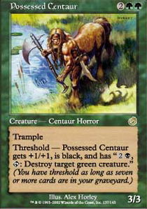 Possessed Centaur - Foil