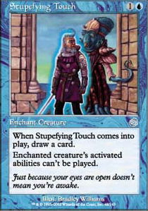 Stupefying Touch - Foil