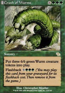 Crush of Wurms - Foil