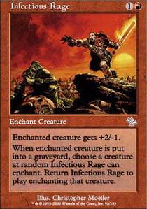 Infectious Rage - Foil