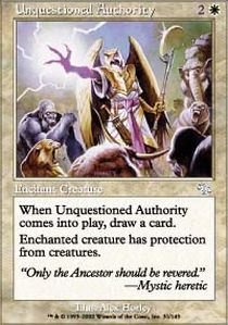 Unquestioned Authority - Foil